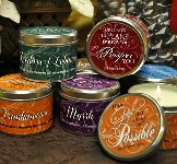 Scripture Candle Tins
