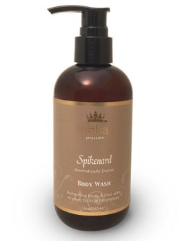 NEW PACKAGING! Spikenard Body Wash w/Pump 8oz