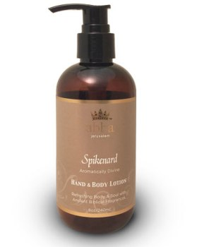 NEW PACKAGING! Spikenard Hand & Body Lotion w/ Pump 8oz