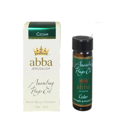 NEW BOX - 1/4 oz Cedar Anointing Prayer Oil
