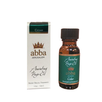 NEW BOX - 1/2 oz Cedar Anointing Prayer Oil