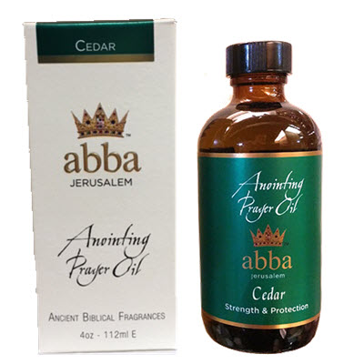 NEW BOX - 4 oz Cedar Anointing Prayer Prayer Oil