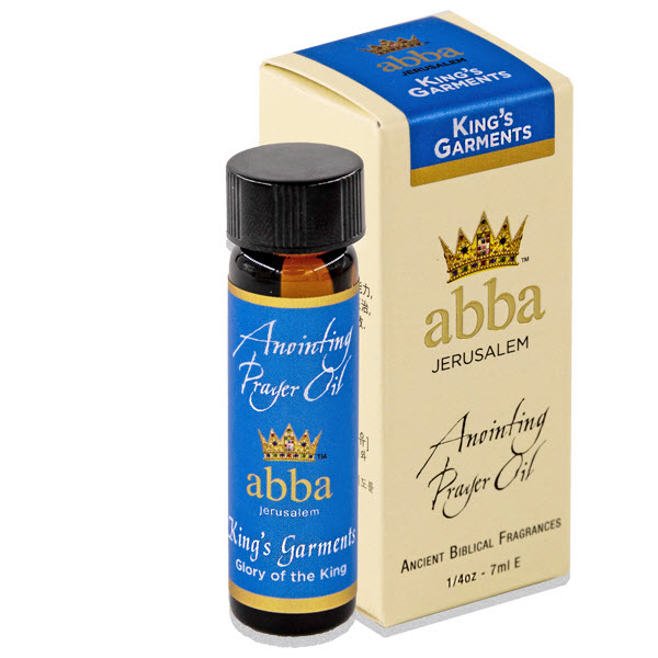 NEW BOX - 1/4 oz King's Garments Anointing Prayer Oil