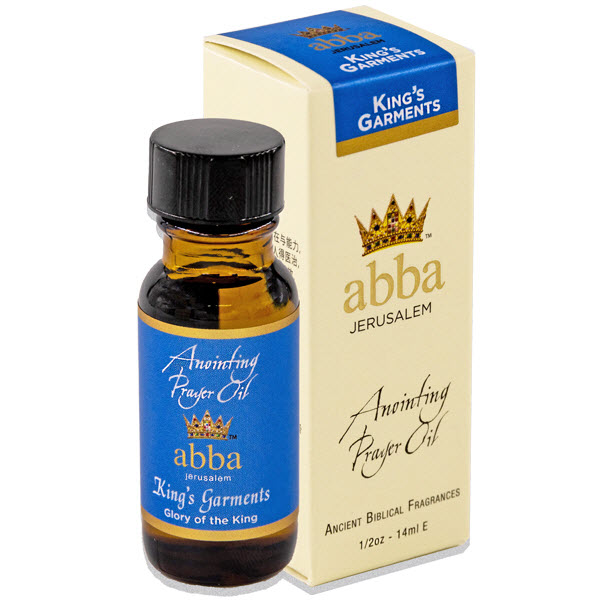 NEW BOX - 1/2 oz King's Garments Anointing Prayer Oil