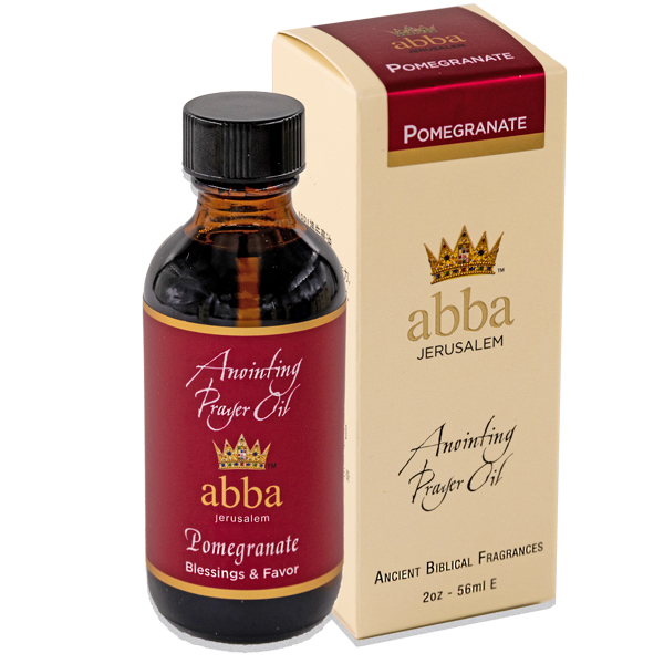 New Fragrance! 2 oz Pomegranate Anointing Prayer Oil