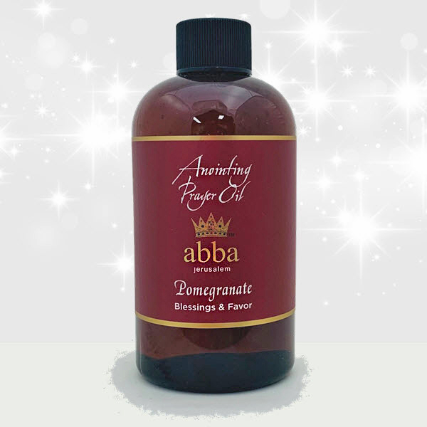 New Fragrance! 8 oz Pomegranate Anointing Prayer Oil