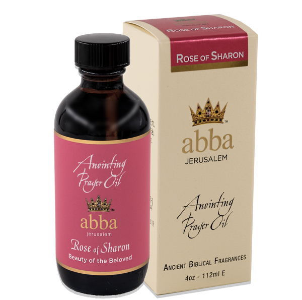 4 oz ROSE OF SHARON ANOINTING PRAYER OIL