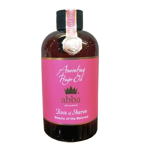 8 oz Rose of Sharon Anointing Prayer Oil