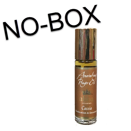 NO BOX - 1/3 oz roll-on Cassia Anointing Prayer Oil