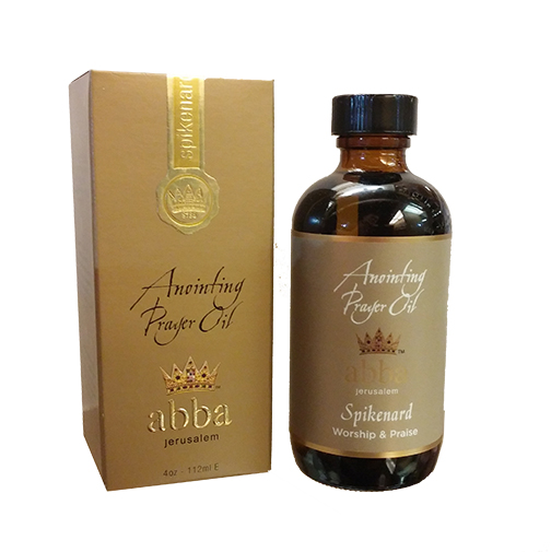 4 oz Spikenard Anointing Prayer Oil