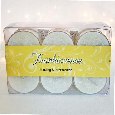 FRANKINCENSE TEALIGHTS - 12 PK