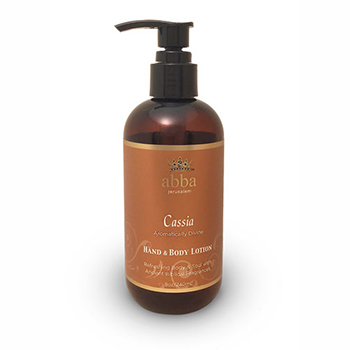 Cassia Hand & Body Lotion w/Pump 8oz