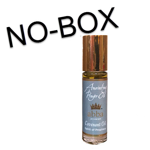 NO BOX - 1/3 oz Roll-on Covenant Anointing Prayer Oil