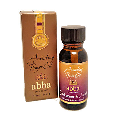 1/2 oz Frankincense & Myrrh Anointing Prayer Oil