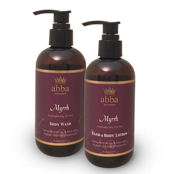 Myrrh Spa Duo (Reg $20.)