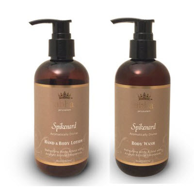 Spikenard Hand and Body Lotion and Body Wash (Reg $20.)