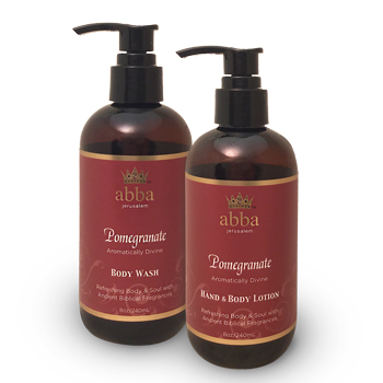Pomegranate Spa Duo