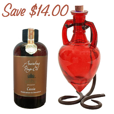 Cassia 8oz Oil with Red Amphora for ONLY $66.99 (Save $14.)