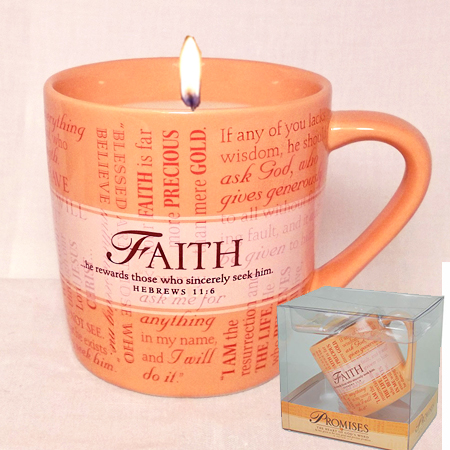 Faith Mug Cassia Candle