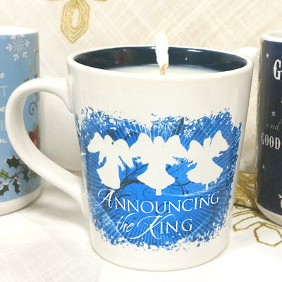 Anouncing the King Mug Candle - Frankincense & Myrrh