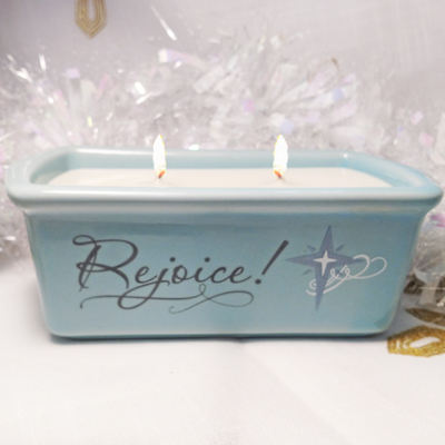 Frankincense & Myrrh Loaf Pan Candle (Reg $17)