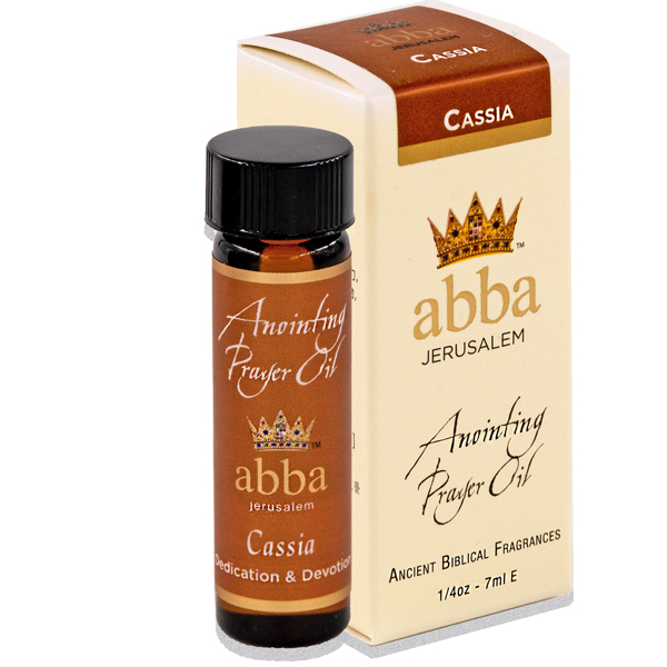 NEW BOX - 1/4 oz Cassia Anointing Prayer Oil