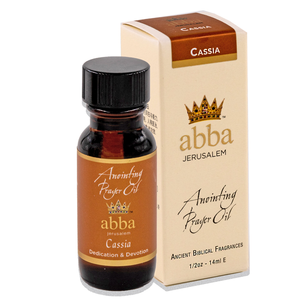 NEW BOX - 1/2 oz Cassia Anointing Prayer  Oil