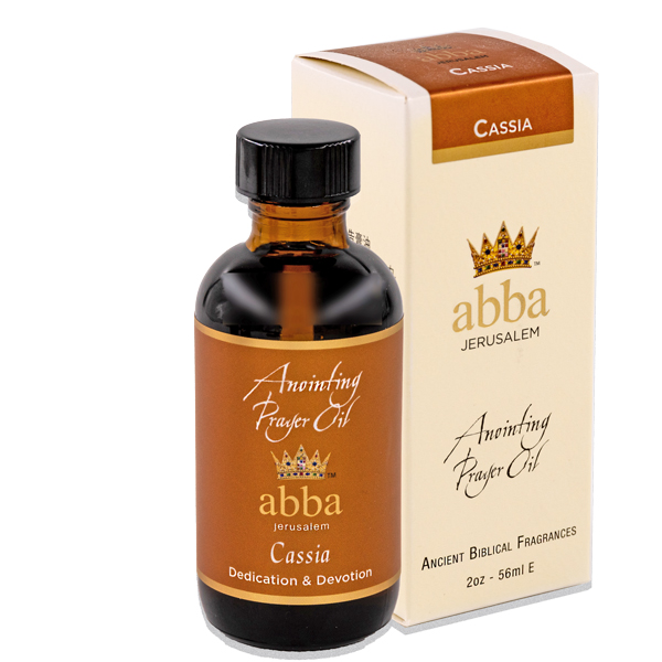NEW BOX - 2 oz Cassia Anointing Prayer Oil