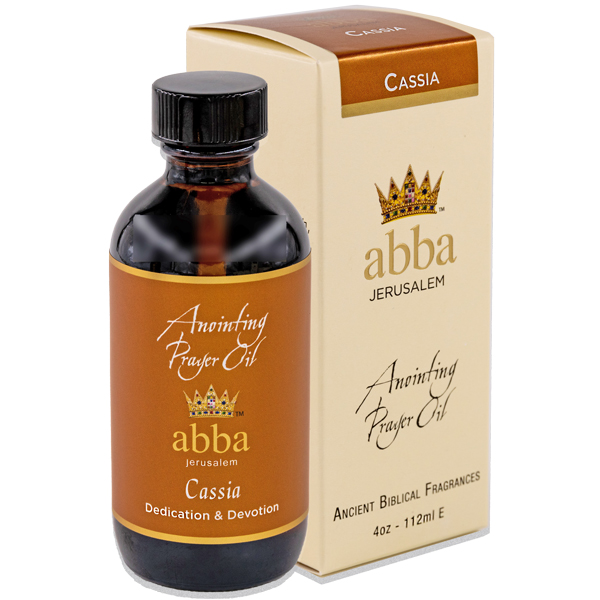 NEW BOX - 4 oz Cassia Anointing Prayer Oil