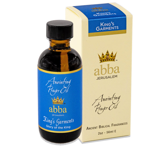 NEW BOX - 2 oz King's Garments Anointing Prayer Oil