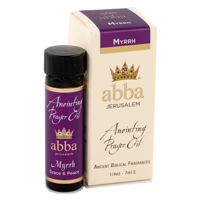 1/4 oz Myrrh Anointing Prayer Oil