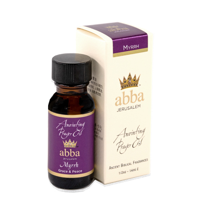1/2 oz Myrrh Anointing Prayer Oil
