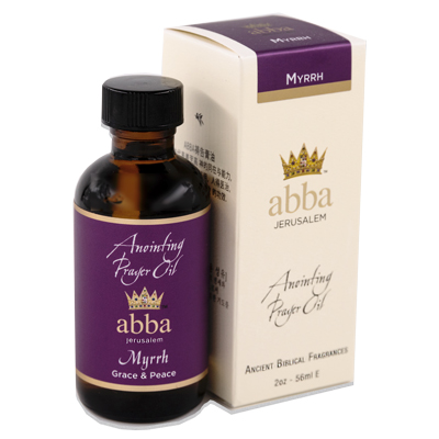 2 oz Myrrh Anointing Prayer Oil