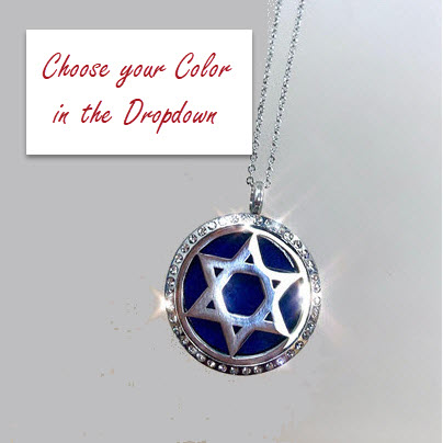 DIFFUSER PENDANT - OPEN STAR OF DAVID STAINLESS