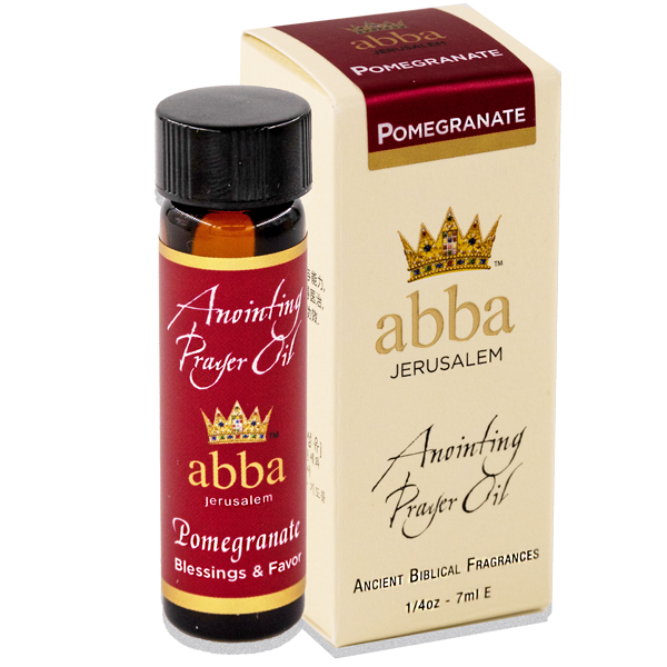 New Fragrance! 1/4 oz Pomegranate Anointing Prayer Oil