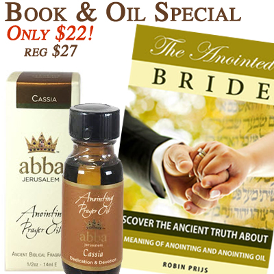 """The Anointed Bride"" with 1/2 oz Cassia Anointing Oil"