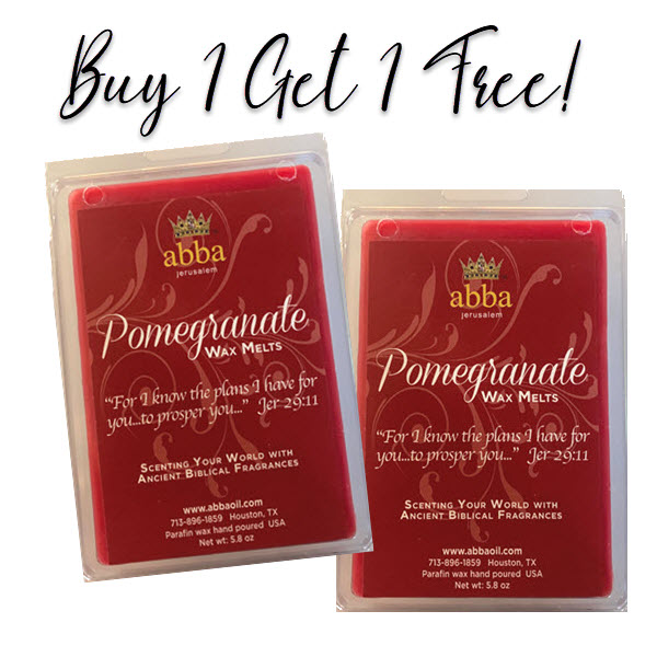 POMEGRANATE - Scented Wax Melts- MONTHLY SPECIAL