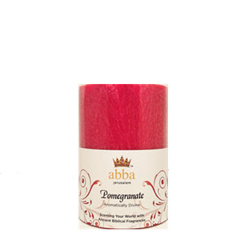 New Fragrance! Pomegranate 3x4 Pillar
