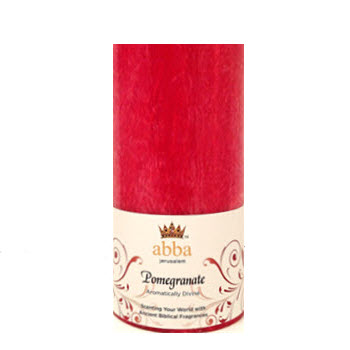 New Fragrance! Pomegranate 3x6 Pillar