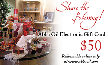 $50 Abba Electronic Gift Card