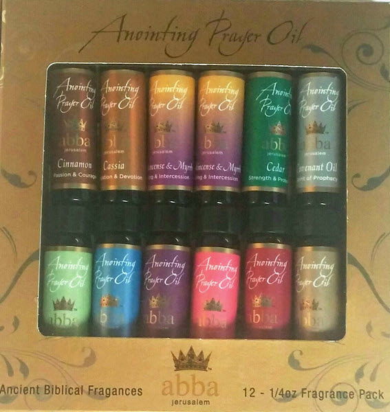 12 Pack - 1/4 oz Anointing Oils - HOU