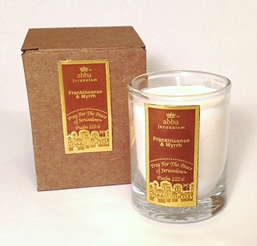 Pray for the Peace of Jerusalem Candle - 2""