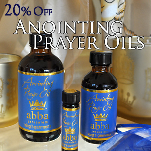 King's Garments Prayer Oil