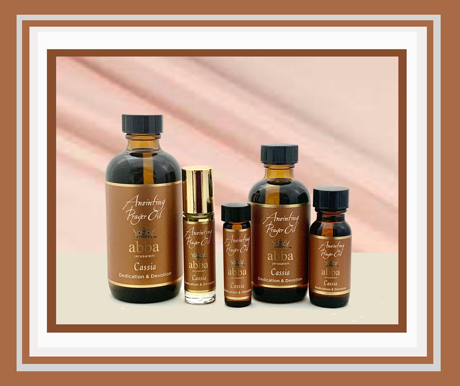 Abba Oil - Cassia Anointing Oil