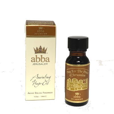 1/2 oz Pray for the Peace - Frankincense & Myrrh Anointing Prayer Oil
