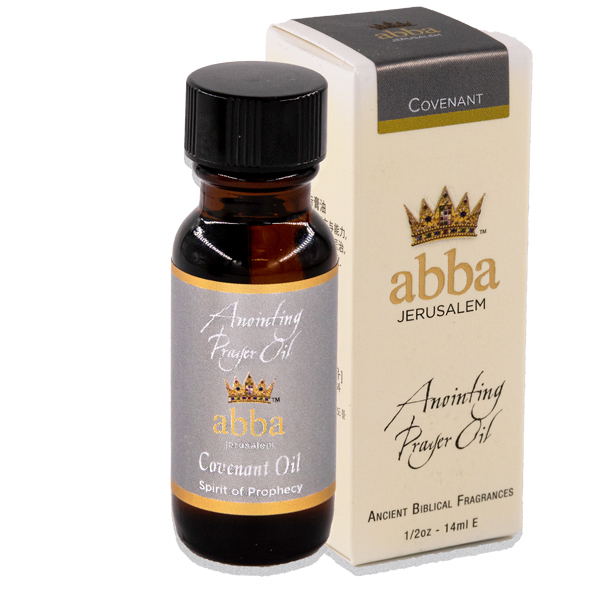 1/2 oz Covenant Anointing Prayer Oil