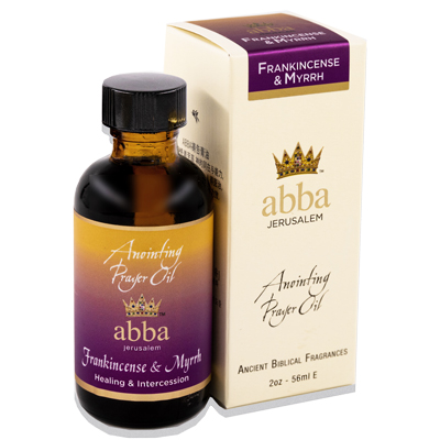 2 oz Frankincense & Myrrh Anointing Prayer Oil