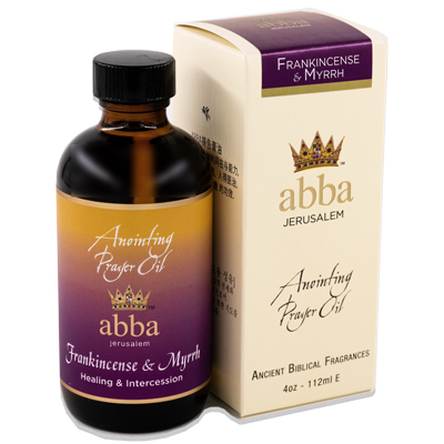 4 oz Frankincense & Myrrh Anointing Prayer Oil