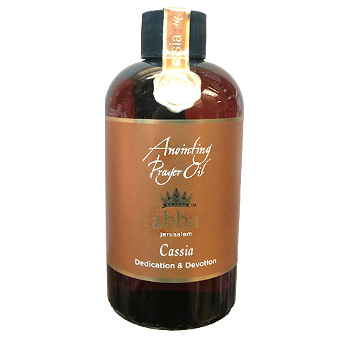 8 oz Cassia Anointing Prayer Oil