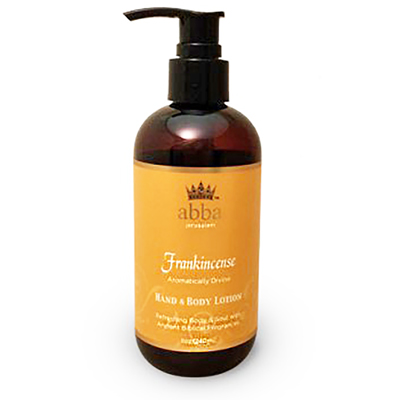 Frankincense Hand and Body Lotion w/Pump 8 OZ